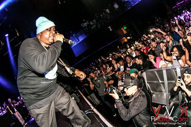 E40 on stage