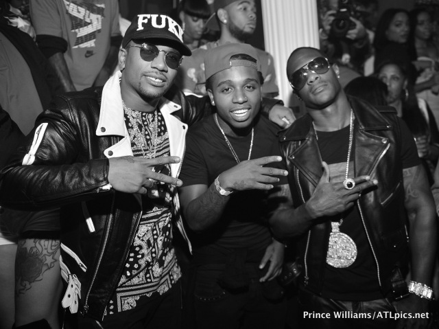 Cyhi The Prynce with Jacquees and CEO of Think its a game FLY