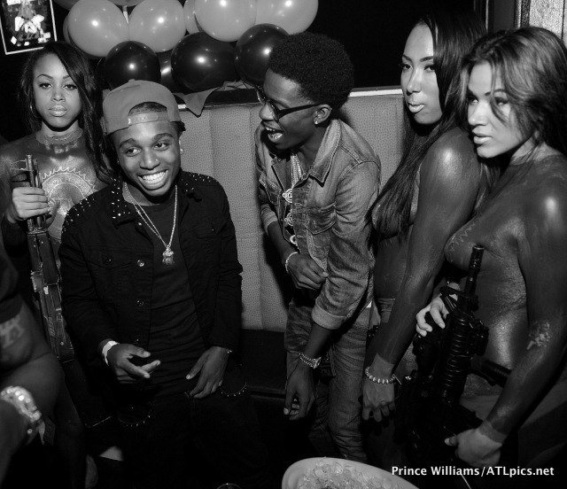 Jacquees Rich Homie Quan and TIG Girls
