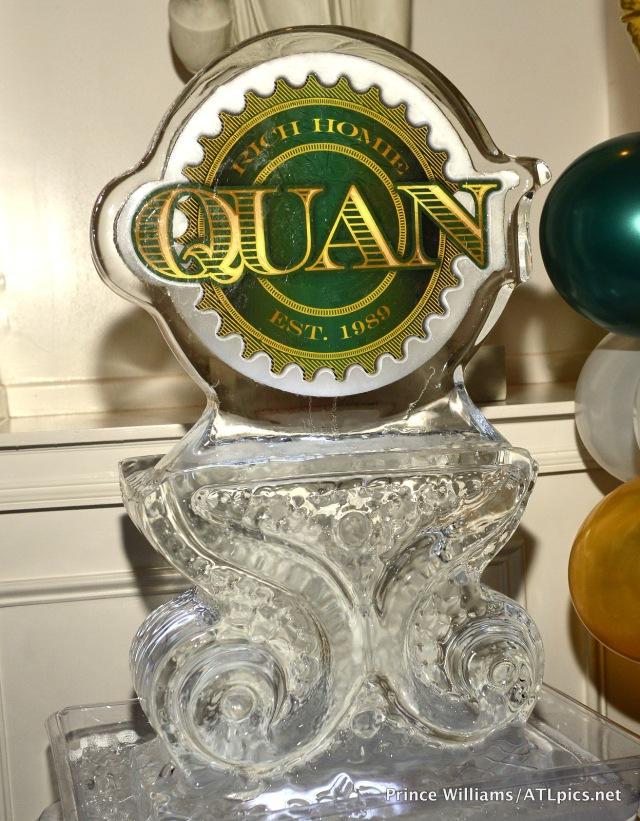 Rich Homie Quan Ice Sculptor