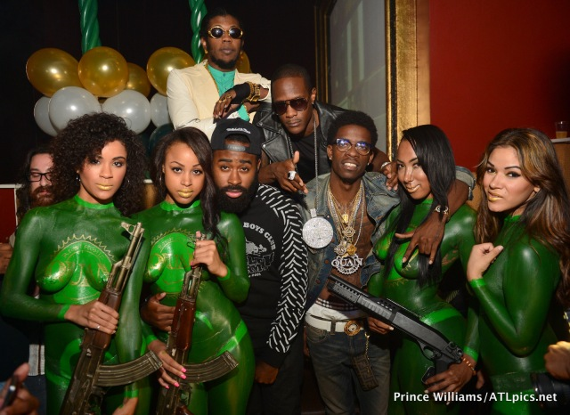 The TIG Girls ForteBowie Trinidad James Rich Homie Quan CEO Fly