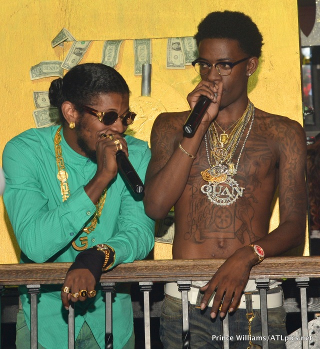 Trinidad James and Rich Homie Quan