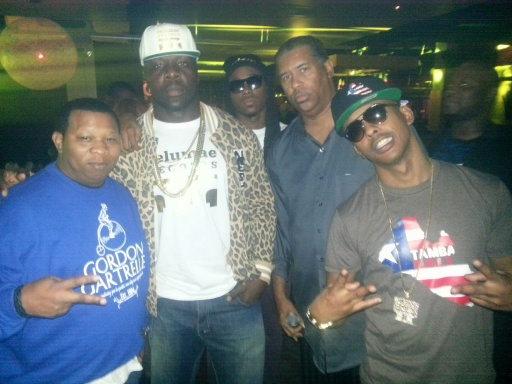 DJ Mannie Fresh Tamba Hali Gillie Da Kid and Starrz