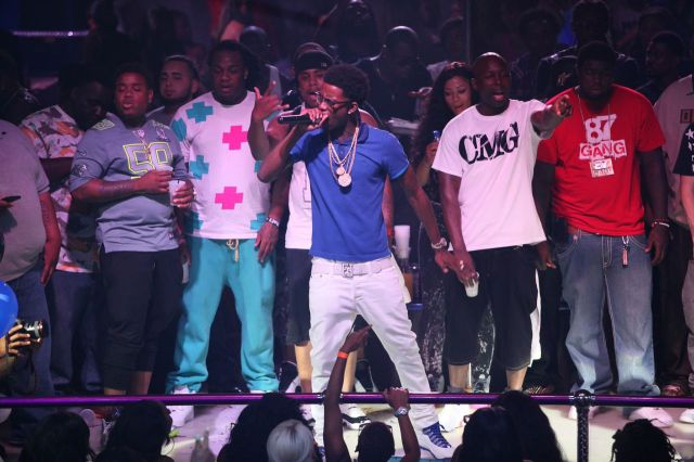 Rich Homie Quan On Stage